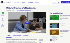 KidVid: Scaling Up Rectangles Interactive