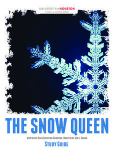 The Snow Queen Study Guide Lesson Plan