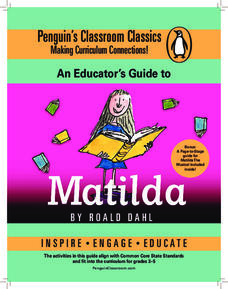 An Educator's Guide to Matilda Lesson Plan