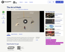 The Art of Math Video