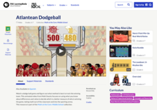Atlantean Dodgeball Activities & Project