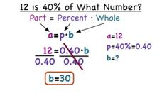 How Do You Use an Equation to Find a Whole? Video