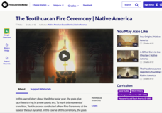 The Teotihuacan Fire Ceremony Video