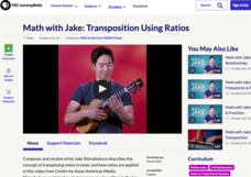 Math with Jake: Transposition Using Ratios Video