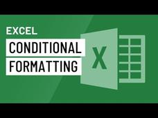 Excel 2016: Conditional Formatting Video