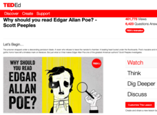 Why Should You Read Edgar Allan Poe? Video