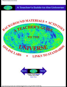 A Teacher's Guide to the Universe Unit