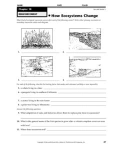 Ecosystem Limiting Factors Lesson Plans & Worksheets