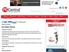 Dry Water Skiing Lesson Plan