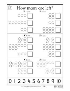How Many Are Left? Worksheet