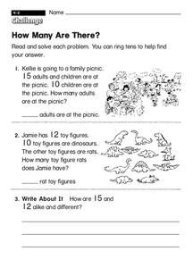 How Many Are There? Worksheet