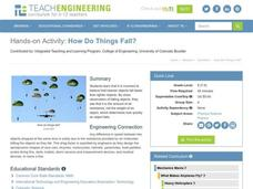 How Do Things Fall? Lesson Plan