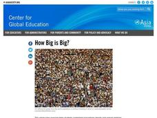 How Big is Big? Lesson Plan