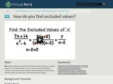 How Do You Find Excluded Values? Video