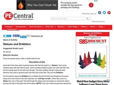 Statues and Dribblers Lesson Plan