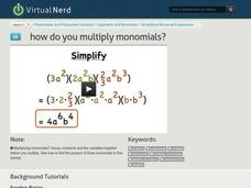 How Do You Multiply Monomials? Video