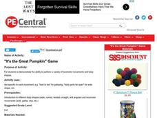 """It's the Great Pumpkin"" Game Lesson Plan"