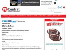 Offense-Defense Lesson Plan
