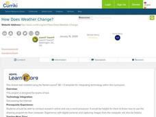 How Does Weather Change? Lesson Plan