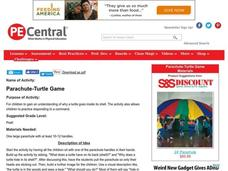 Parachute-Turtle Game Lesson Plan