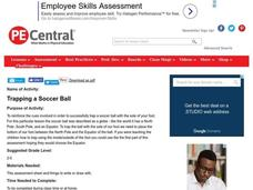 Trapping a Soccer Ball Lesson Plan