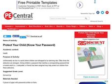 Protect Your Child: Know Your Password Lesson Plan