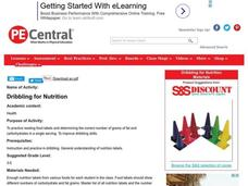 Dribbling for Nutrition Lesson Plan