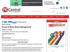 Sound of Music (Stress Management) Lesson Plan