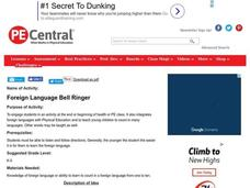 Foreign Language Bell Ringer Lesson Plan