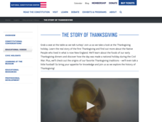 The Story of Thanksgiving Video