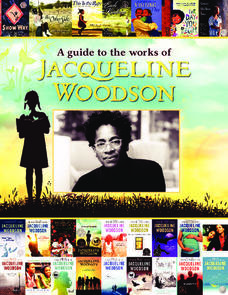 A Guide to the Works of Jacqueline Woodson Lesson Plan