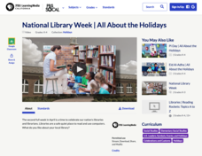 National Library Week | All About the Holidays Video