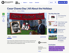 Cesar Chavez Day | All About the Holidays Video