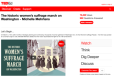The Historic Women's Suffrage March on Washington Video