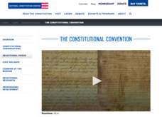 National Constitution Center: Hall Pass Videos