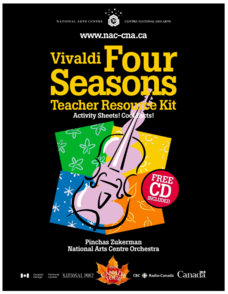 Vivaldi and The Four Seasons: Teacher Resource Kit Activities & Project