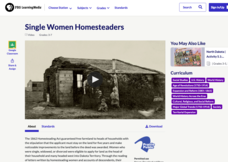 Single Women Homesteaders Video
