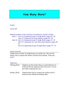 How Many More? Lesson Plan