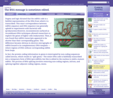 The RNA Message Is Sometimes Edited Interactive