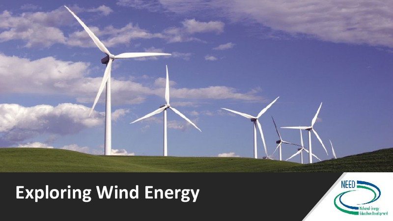 Introduction to Wind Energy Presentation