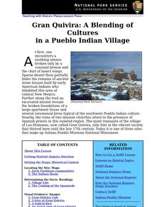 Gran Quivira: A Blending of Cultures in a Pueblo Indian Village Lesson Plan