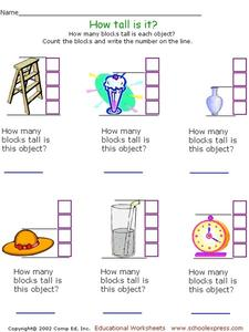 How Tall Is It? Worksheet