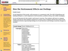 How the Environment Effects our Feelings Lesson Plan