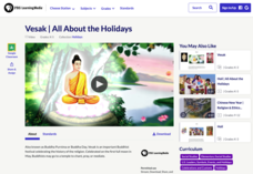 Vesak | All About the Holidays Video