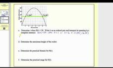 Interpreting a Graph of a Function Video