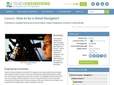 How to be a Great Navigator! Lesson Plan