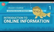 Introduction to Crash Course Navigating Digital Information #1 Video