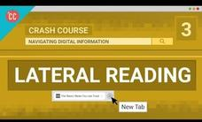 Check Yourself with Lateral Reading: Crash Course Navigating Digital Information #3 Video