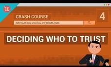 Who Can You Trust? Crash Course Navigating Digital Information #4 Video