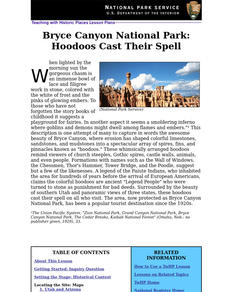 Bryce Canyon National Park: Hoodoos Cast Their Spell (64) Lesson Plan